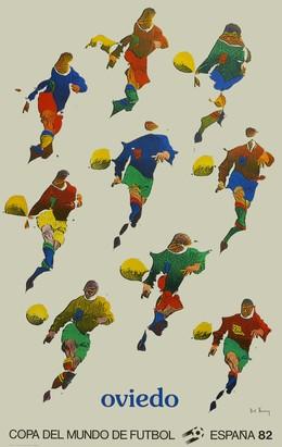 Copa del Mundo de Futbol – España 82 – Oviedo, Pol Bury