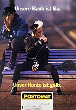 POSTOMAT – Unsere Bank ist lila. Unser Konto ist gelb., Young & Rubicam
