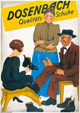 Dosenbach Qualitäts-Schuhe, Hugo Laubi
