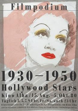 Filmpodium Zürich – Hollywood Stars 1930–1950 – Kino Alba, Paul Brühwiler