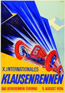 Xth Klausen International Motor Car Race 1934, Ernst Schönholzer