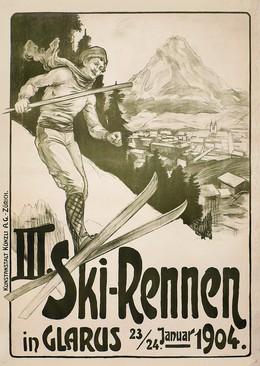 III. Ski-Rennen in Glarus – 1904, Carl Annen