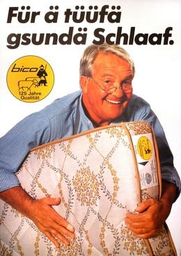 Bico – Für ä tüüfä gsundä Schlaaf, Hans Dubach