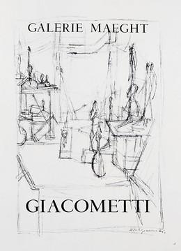 Galerie Maeght – Sculptures in the Studio – GIACOMETTI, Alberto Giacometti