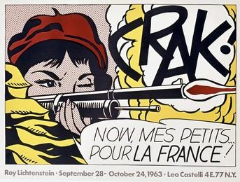 Crack – Now, mes petits pour la France !, Roy Lichtenstein