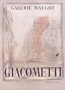 Galerie Maeght – Rue d'Alésia – GIACOMETTI, Alberto Giacometti