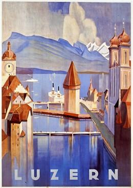 LUZERN, Otto Baumberger