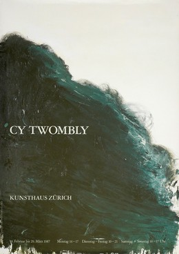Kunsthaus Zürich – CY TWOMBLY, Cy Twombly
