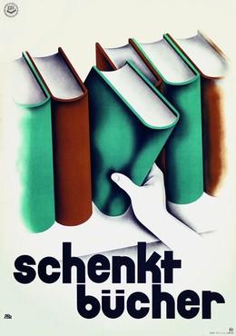 Schenkt Bücher – Schweizerischer Buchhändler-Verein, Paul Bachmann