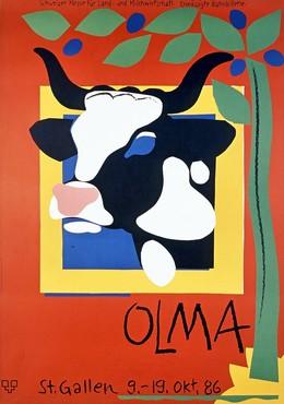 OLMA Schweizer Messe für Land- und Milchwirtschaft St. Gallen 9. – 19. Oktober 1986, Ruedi Külling