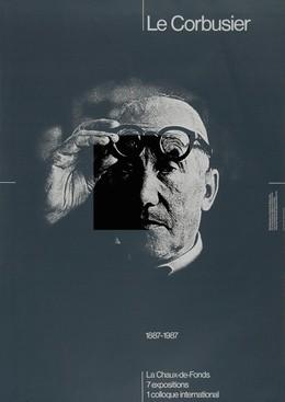 Le Corbusier – Comm. des Manifestations La Chaux de Fonds, Werner Jeker