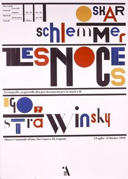 Museo Cantonale d'Arte Lugano – Oskar Schlemmer – Les Noces – Igor Strawinsky, Bruno Monguzzi