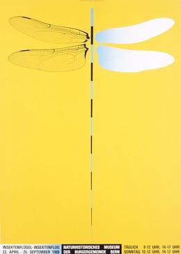 Naturhistorisches Museum der Burgergemeinde Bern – Insektenflügel Insektenflug, Claude Kuhn