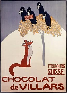 CHOCOLAT DE VILLARS – FRIBOURG SUISSE., Emil Cardinaux