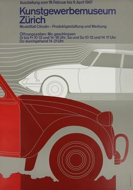 Kunstgewerbemuseum Zürich – Modellfall Citroën – Produktgestaltung und Werbung, Jörg Hamburger