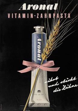 Aronal – toothpaste, Hermann Eidenbenz