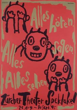 Zürcher Theater Spektakel 1995, Benker & Steiner
