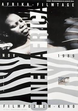 CINEMAFRICA 1989 – Afrika-Filmtage Nov. 1989 – Filmpodium-Kino, Ralph Schraivogel