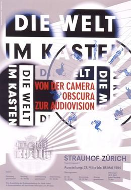 Die Welt im Kasten – von der Camera Obscura zur Audiovision – Strauhof Zürich, Ralph Schraivogel