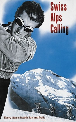 Swiss Alps Calling – every step is health, fun and frolic, Hans Aeschbach