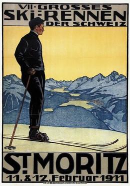 VII. Grosses Skirennen der Schweiz St. Moritz 1911, Walter Küpfer