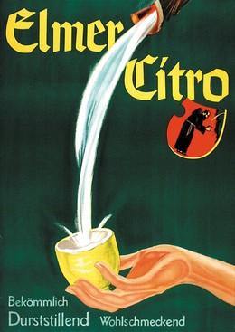 Elmer Citro – bekömmlich durststillend wohlschmeckend, Max Dalang