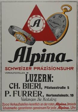 Alpina – Schweizer Präzisionsuhr, Artist unknown