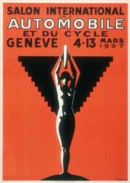 Salon International Automobile et du Cycle Genève 4-13 Mars 1927, G. Curval