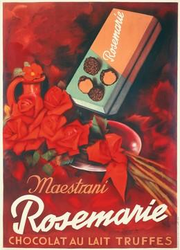 Maestrani – Rosemarie Chocolat au lait truffes, Artist unknown
