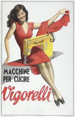 Vigorelli – Macchine per cucire, Gino Boccasile