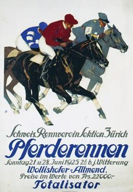 Pferderennen – Schweiz. Rennverein Sektion Zürich, Iwan Edwin Hugentobler