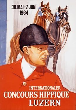 Concours Hippique Luzern, Iwan Edwin Hugentobler