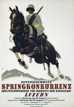 Lucerne – Horse Race of Central Switzerland, Iwan Edwin Hugentobler