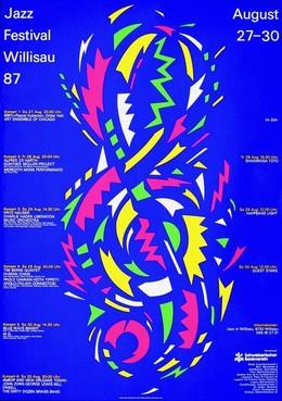 Jazz Festival Willisau '87, Niklaus Troxler
