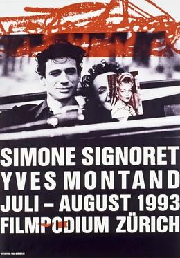 SIMONE SIGNORET – YVES MONTAND – Filmpodium Zürich, Paul Brühwiler