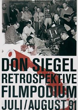 DON SIEGEL RETROSPEKTIVE Filmpodium Zürich 1991, Paul Brühwiler