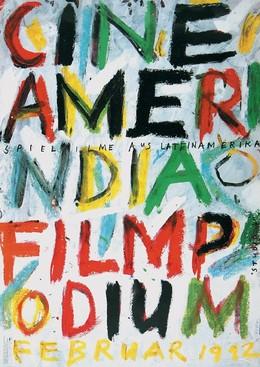 CINEAMERINDIA – FILMPODIUM 1992 – Studio 4 – Spielfilme aus Lateinamerika, Paul Brühwiler