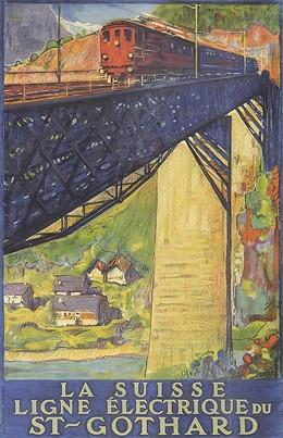 La Suisse – Ligne Electrique du St-Gothard, Daniele Buzzi
