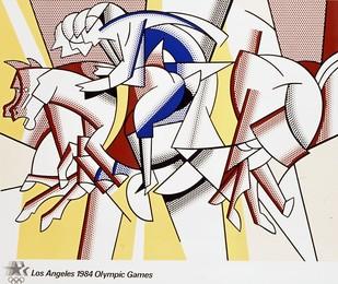 Los Angeles 1984 Olympic Games, Roy Lichtenstein